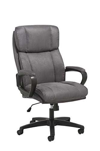 (Essentials Executive Chair - High Back Office Computer Chair (ESS-3081-GRY))