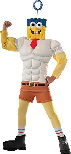 Rubie's Costume SpongeBob Movie Muscle Chest Child Costume, Medium ()
