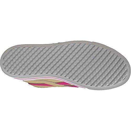 Reebok - Royal Comp Mid Syn - V62902 - Farbe: Beige-Braun-Rosa - Größe: 36.5