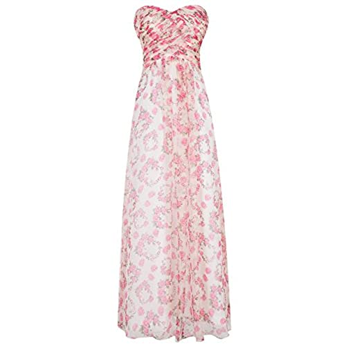 Ugly bridesmaid dresses amazon dresstells sweetheart bridesmaid chiffon prom dresses long evening gowns pink rose size 4 junglespirit Images