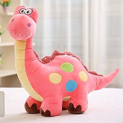 Peluche Dinosaure Jouet Poup/ée 50cm Coussin Cadeau pour Enfant Doudou Doll Poup/ée Adorable Anniversaire Decoratif Gar/çon Mignon Bleu, 35cm TM LQZ