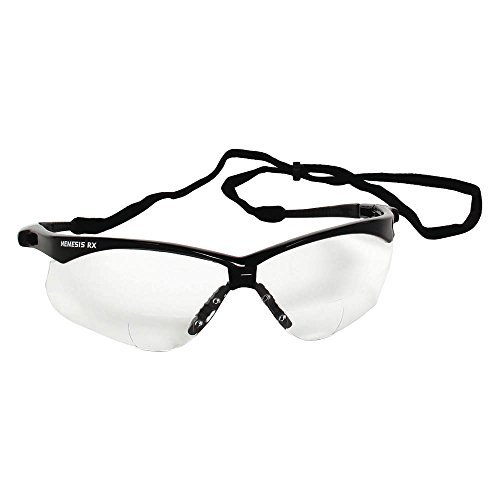 Reading Glasses, +2.0, Clear, Polycarbonate ()