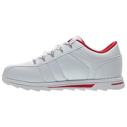 ... Lugz Menns Tempo Mote Sneaker Hvit ...
