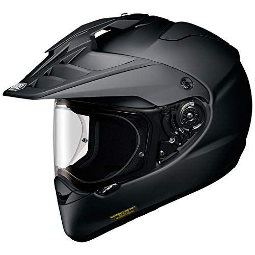 Shoei Hornet X2 Street Bike Racing Motorcycle Helmet - Matte Black/2X-Large