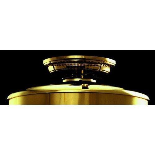 Casablanca LCA-4 Low Ceiling Adapter - Antique Brass