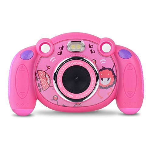 Campark Kids Camera HD Digital Children Camcorders 2 inch Screen with Mic, Non-Slip and Anti-Drop Design for Boys Girls Gifts