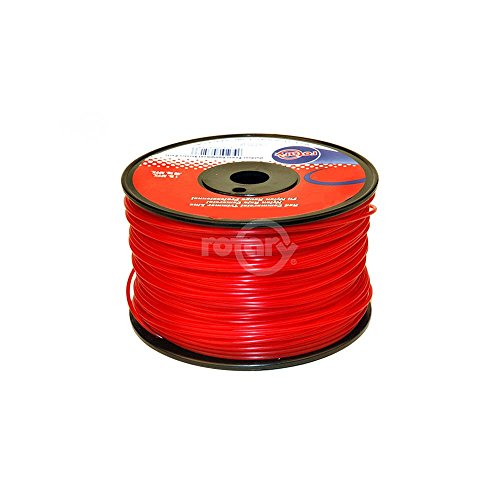 Rotary # 3521 Round Trimmer line Red Commercial Grade # .130 Dia x 150 ' Loop 1 LBS from Rotary Corp