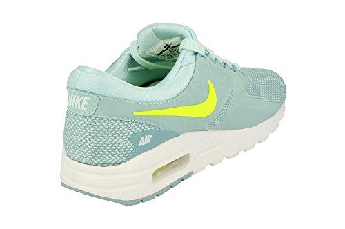 Nike Air Max Null ESSENTIAL GS LAUFSCHUHE 881229 Turnschuhe Gletscher Blau Volt weiß 400