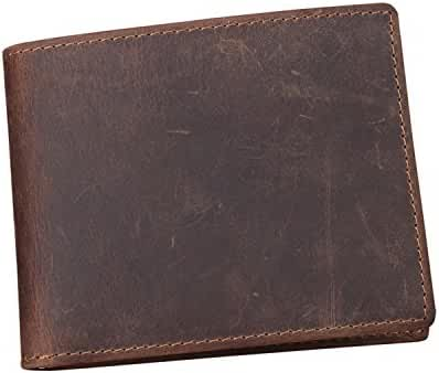 Men's Genuine Leather Bilfold Cash and Cards Wallet