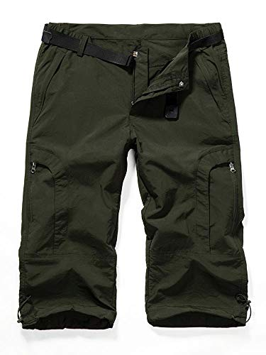 - Aiegernle Women's Quick Dry Cargo Shorts,Outdoor Casual Straight Leg Shorts for Hiking Camping Travel Army Green