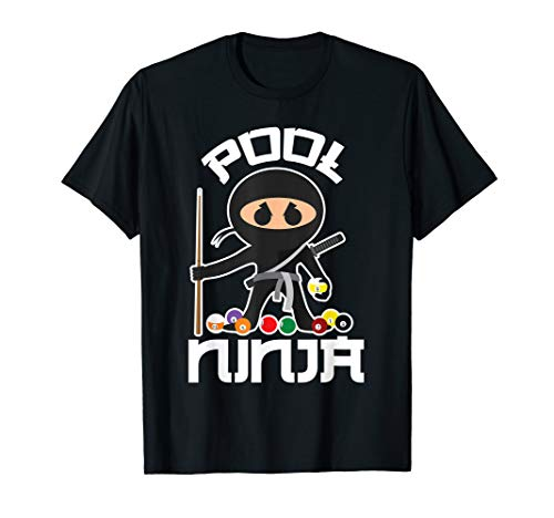 Pool Ninja Shirt | Cute Pocket Billiards Lover T-shirt Gift