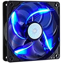 Cooler Master SickleFlow 120 - Sleeve Bearing 120mm Blue LED Silent Fan for Computer Cases, CPU Coolers, and Radiators
