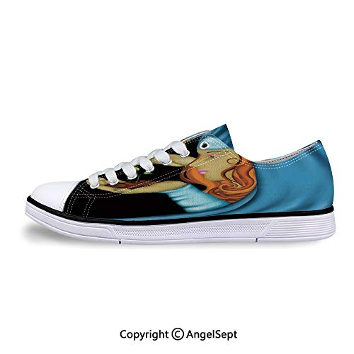 Sneakers for Ladies Holding Little Tree Fortune Future Low Top Canvas Shoes]()