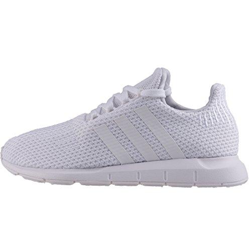 adidas Swift Run W, Chaussures de Running Femme, Noir Blanc (Footwear White/footwear White/footwear White 0)