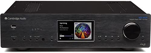 Cambridge Audio Azur 851N Stereo Digital Preamplifier, Network Player Hi-Fi All-in-One Receiver Wireless Media Streaming with WiFi, Apple AirPlay and Android Compatible Black