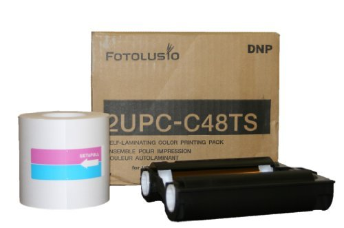 DNP 4x8'' Print Pack for Sony UP-CR10L & UPCX1 Dye-Sub Printers by DNP