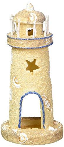 Pen Plax RR1052 Lighthouse Aquarium Ornament, 8.75