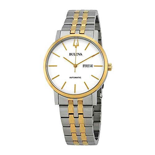 Bulova Men's Japanese Automatic Stainless Steel Dress Watch, Color:Two Tone (Model: ()