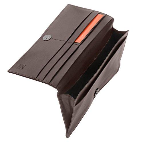DuDu 597-662-03, Borsa a spalla donna Marrone marrone compact