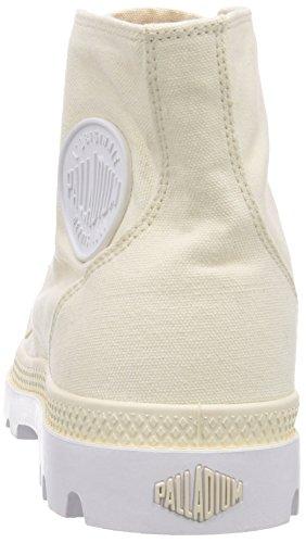 Palladium BLANC HI - botas desert de lona unisex blanco - Weiß (ANTIQUE WHT/WHT 153)
