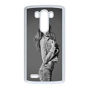 LG G3 Cell Phone Case White Mona Johannesson OJ530091