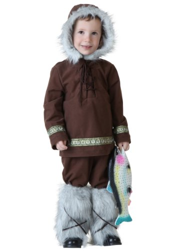 [Fun Costumes boys Little Boys' Eskimo Boy Costume 4T] (Kid Eskimo Costume)