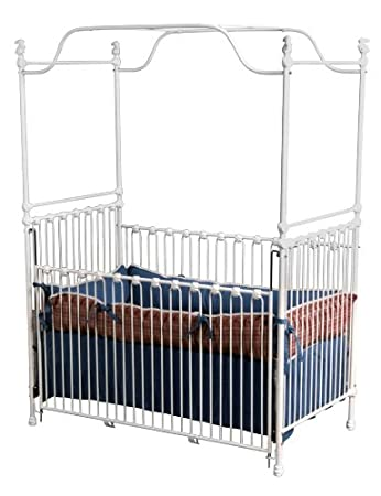 Corsican Canopy Iron Baby Crib 40194  sc 1 st  Amazon.com & Amazon.com : Corsican Canopy Iron Baby Crib 40194 : Baby