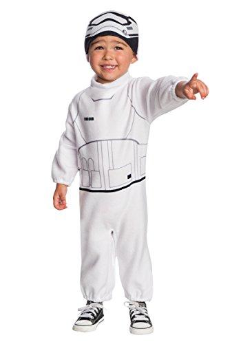Rubie's Costume Boys Star Wars VII: The Force Awakens Stormtrooper Costume, Multicolor, (Stormtrooper Force Awakens Costume)