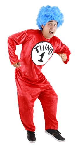 Thing 1 And Thing 2 Jumpsuits (403160 (L/XL) Thing 1&2 Adult Costume F/R)