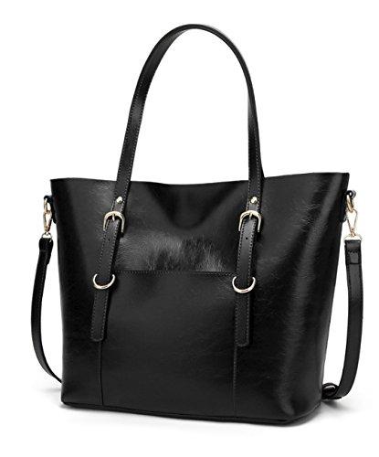 Cartera Mujer Bolso de mano modelo Craft de temporada moda verano primavera invierno en diferentes colores Negro