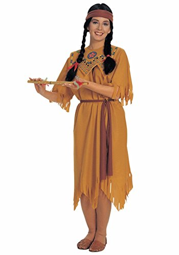 Womens Pocahontas Native American Indian Costume - Up to Size (Indian Costumes Women)