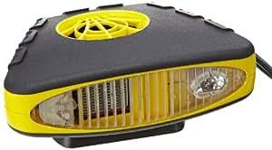 Alpin 73325 Negro, Amarillo Ventilador - Calefactor (Ventilador, 360°, 2,3 m, Negro, Amarillo)