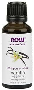 NOW  Natural Vanilla (In Jojoba Oil), 1-Ounce