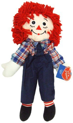 Raggedy Andy Hand Puppet 18 Plush by Applause