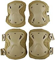 Tactical Military Airsoft Sport Knee Elbow Protective Pads Adjustable