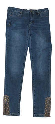 kinny Ankle Jeans, Size 6; Oasis Wash Select (Anne Klein Capris)