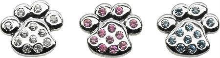 3/4'' Slider Paw Charm Pink 3/4'' (18mm) Case Pack 24 3/4'' Slider Paw Charm ... by DSD
