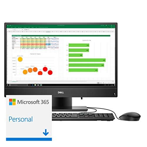 "Computador All in One Dell Inspiron 3280-MS20PF 8ª Ger Intel Core i5 8GB 256GB SSD 21.5"" Touch Windows 10 Microsoft 365"