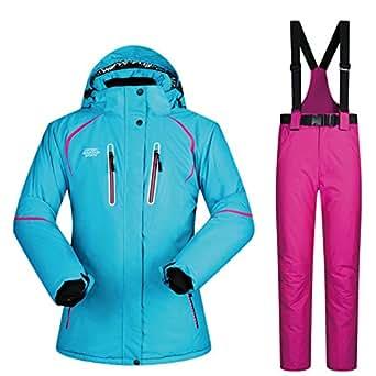 Amazon.com: Ski Suit for Women Winter Ski Jacket and Pants