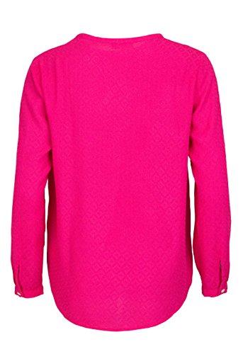 LIEBLINGSSTÜCK Langarm Blusenshirt RELLA Struktur pink