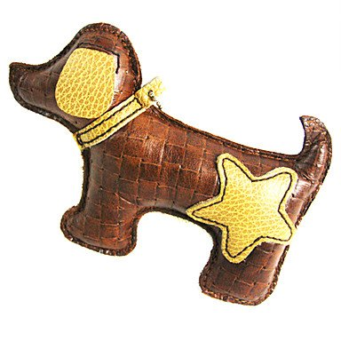 QINF All Cow Leather Star And Heart Pattern Puppy Dog Style