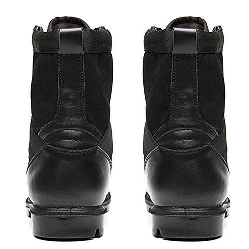 Tactique Combat De Randonnée Plein Bottes Montantes Utilitaire pour Désert Black Armée Lacets Chaussures Bottes Bottes Air en Hommes Haut De Militaire Femmes Bottes D'entraînement x47P6nYqw