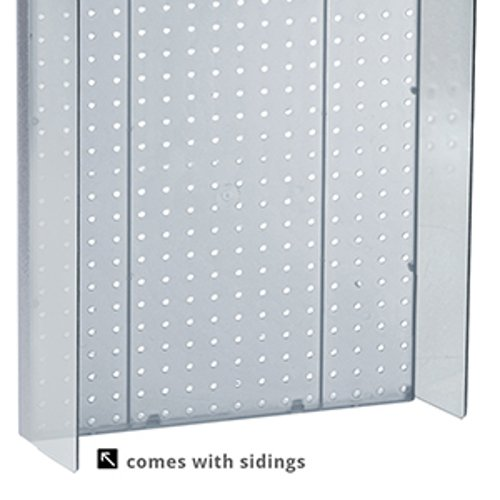 New Retails Clear Pegboard Powerwing Display 16''w x 20.25''high by Pegboard Powerwing Display