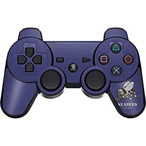 Skinit Seabees Can Do PS3 Dual Shock Wireless Controller Skin - Officially Licensed US Navy Gaming Decal - Ultra Thin, Lightweight Vinyl Decal Protection by Skinit
