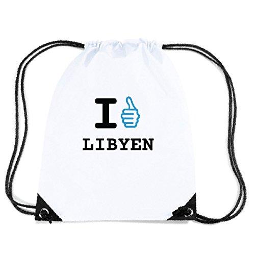 JOllify LIBYEN Turnbeutel Tasche GYM4783 Design: I like - Ich mag GjuRT