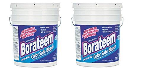 Dial 871882 Borateem Non-Chlorine Color Safe Bleach,17.5 lb Pail, 424 Loads (Borateem Color Safe)