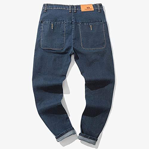 Solid Skang Jeans Homme Jeans Solid Bleu Skang c18wqxgwSI