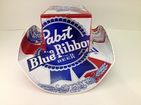 Officially Licensed Pabst Blue Ribbon PBR Beer Box Top Style Beer ... 99da3386961