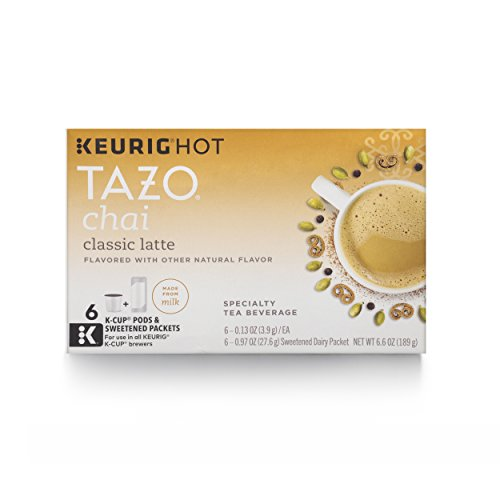 Tazo K-Cup for Keurig Brewers, Classic Chai Latte, 24 Count