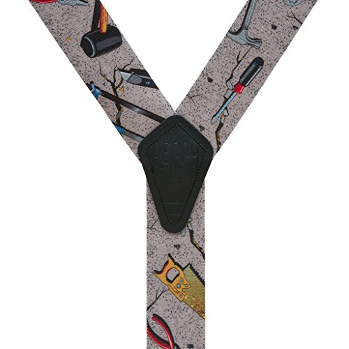 Handyman Carpenter Suspenders by Perry (Regular) by Perry Suspenders (Image #2)